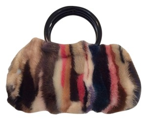 Mink Snap Closure Multi Clutch