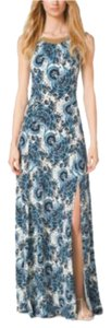 Heritage blue Maxi Dress by Michael Kors