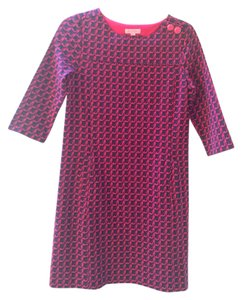 Lilly Pulitzer Pink Belted Reversible Dress