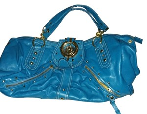 Baby Phat Satchel in blue