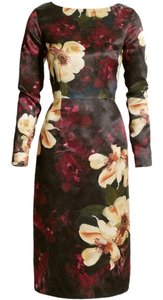 H&M Bodycon Sheath Wiggle Painting Limited Edition Concious Collection Matchy Matching Ted Baker Dress