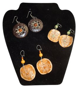 Other Three (3) pair of dream catcher earrings.