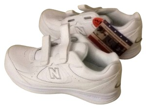 New Balance White Athletic