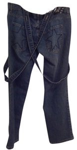 Abbey Dawn by Avril Lavigne Straight Leg Jeans-Medium Wash