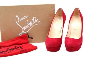 Christian Louboutin Bianca Pumps Red Platforms