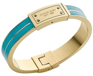 Michael Kors NWT MICHAEL KORS Tiffany Blue & Gold Bangle