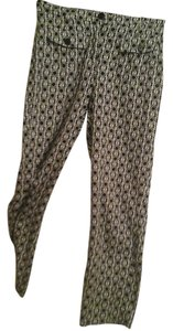 Talbots Straight Pants Black/white