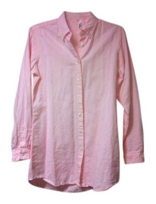Preload https://item4.tradesy.com/images/anthropologie-pink-low-hip-length-button-down-top-size-8-m-10673-0-0.jpg?width=400&height=650