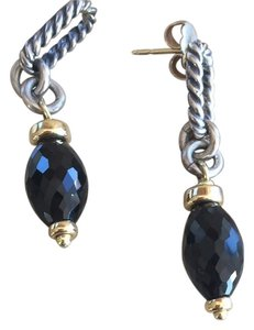 David Yurman Onyx Drop Earrings