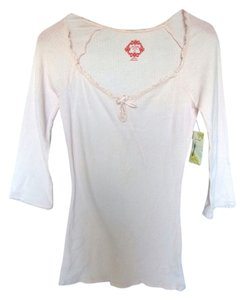 Free People Thermal Top Pink