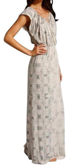 Item - Nude/Gray Casual Maxi Dress Size 4 (S)