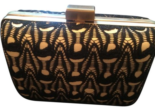 Sondra Roberts Black & White Clutch