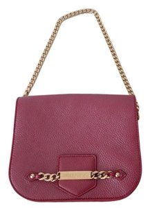 Jimmy Choo Clutch Leather Crossbody Shoulder Bag