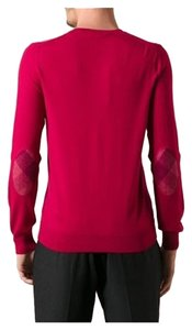 Burberry Brit Dockley Pink Elbow Patches Sweater