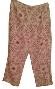 Talbots Capri/Cropped Pants Rose/linen