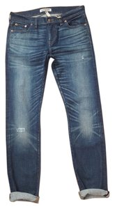 Madewell Denim Straight Leg Jeans-Distressed
