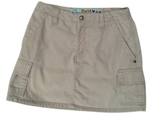Mudd Mini Skirt Khaki