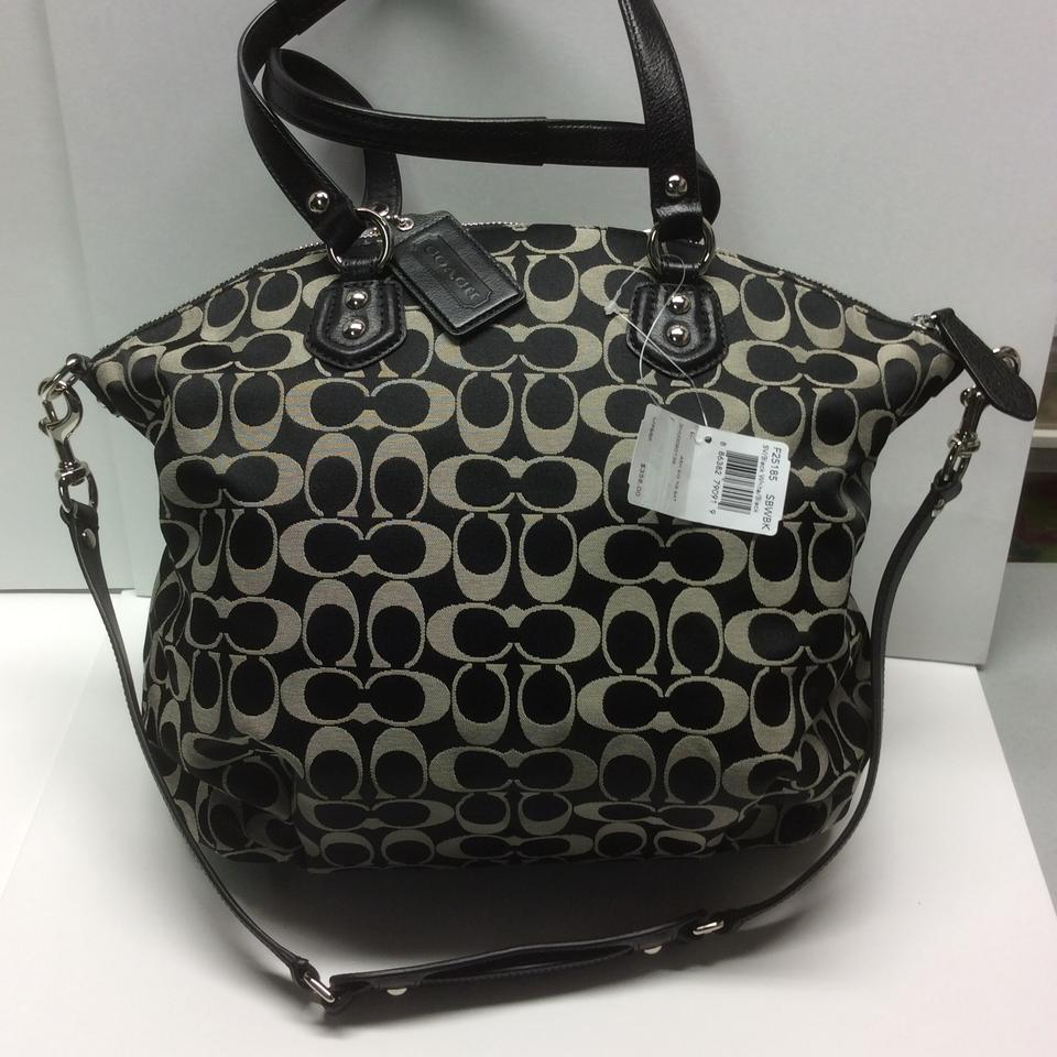 f1d07af369da Coach Signature Ashley Tote Crossbody Satchel in Black .