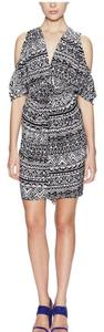 T-Bags Los Angeles short dress Black/White on Tradesy