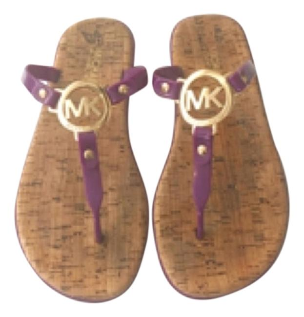 Item - Purple Sandals Size US 7 Regular (M, B)