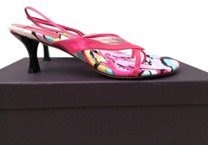 Stuart Weitzman Hot Pink Sandals
