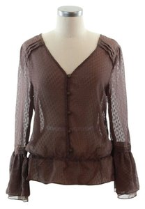 Sanctuary Clothing Top brown