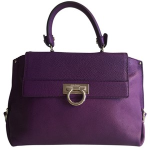 Salvatore Ferragamo Satchel in purple