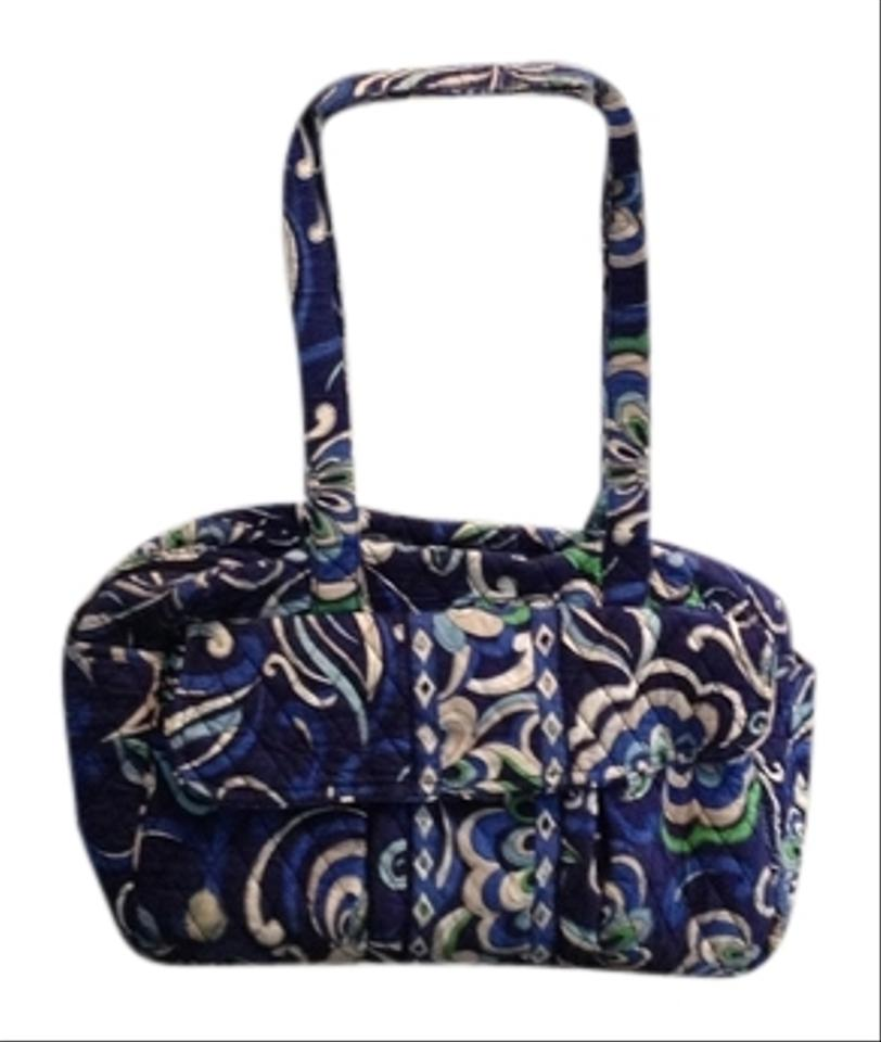 vera bradley green blue white 55 off vera bradley baby diaper bags tradesy. Black Bedroom Furniture Sets. Home Design Ideas