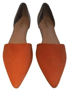 Charles by Charles David Orange and beige Flats