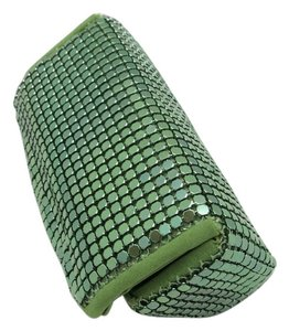 Whiting & Davis Lip stick Case Whiting & Davis chain mail green