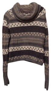 Kenji Anthropologie Fair Isle Warm Cowl Sweater