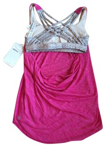 Lululemon New With Tags Lululemon Wild Tank Size 2 Jeweled Magenta Dottie