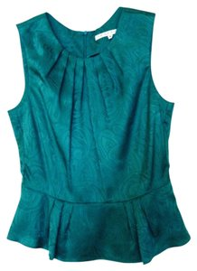 Trina Turk Top Emerald Green