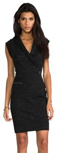 Marc by Marc Jacobs short dress BLACK MELANGE Alana Ponte Knit on Tradesy
