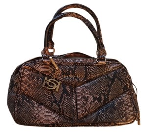 bebe Snakeskin Shoulder Bag