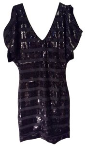 As U Wish Sequin Cut-out Dress