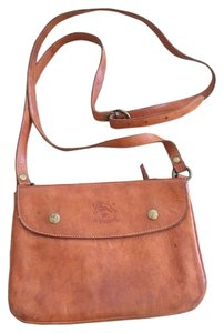 Il Bisonte Leather Cross Body Bag