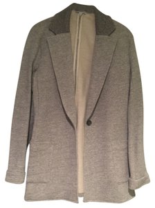 James Perse Size 4 Grey Blazer