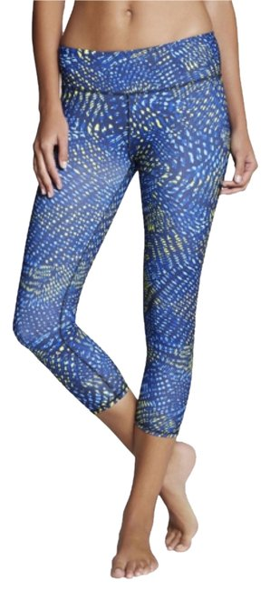 Item - Blue/Yellow Activewear Bottoms Size 8 (M, 29, 30)