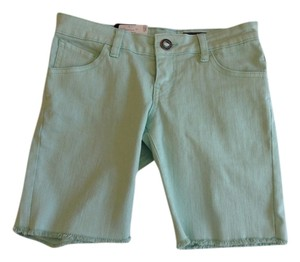 Volcom Bermuda Denim Bermuda Shorts Sea foam Green