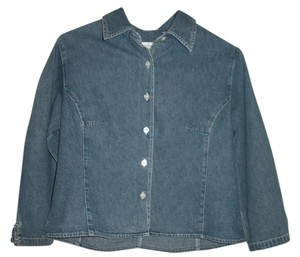 Willi Smith Button Down Shirt Denim