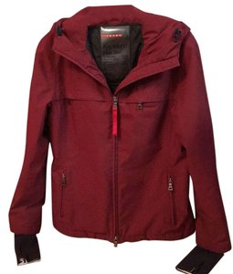 Prada Ski Jacket Gore-tez Red Coat