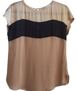 Aritzia Silk Sheer Work Top