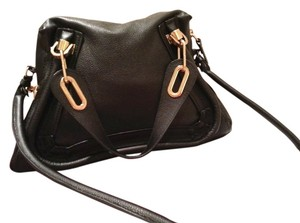 Chloé Chloe Paraty Calfskin Leather Shoulder Bag