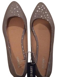 Old Navy Silver Flats