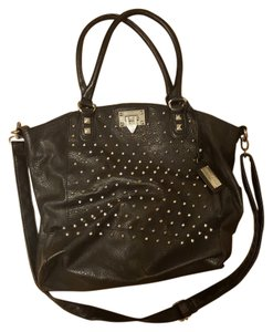 Steve Madden Studded Tote in black