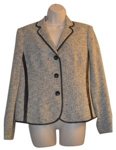 Jones of New York Black and White Blazer Blazer