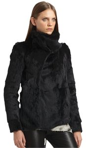 Helmut Lang Winter Fur Large Suede Fur Coat