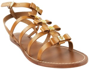 Tory Burch Kira Gladiator Royal Tan Sandals
