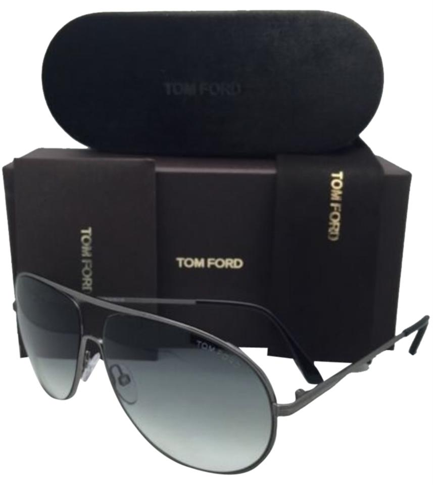 1c93f094d5913 Tom Ford New TOM FORD Sunglasses CLIFF TF 450 09B 61-11 Gunmetal   Black ...